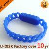 Диск USB браслета силикона подарков промотирования внезапный (YT-6309GL)