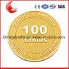 Moneta di oro del ricordo di doratura elettrolitica del metallo di sfida di alta qualità