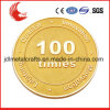 Qualitäts-Herausforderungs-Metallvergoldung-Andenken-Goldmünze