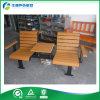 Coffee Tea Table (FY-326X)를 가진 옥외 Couple Metal Frame Bench Chair