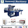 PE Film Automatic Heat Shrink Wrapping Machine para Bottle Packaging