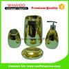 Комплект вспомогательного оборудования ванной комнаты золота Шампань Shining роскошный