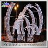 Lumière géante de chaîne de caractères de la voûte DEL de Noël commercial extérieur Twinkling de décoration