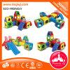 Bloc constitutif de diverse d'enfants glissière détachable en plastique épaisse de cour de jeu