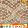 Azulejo de suelo de cerámica rústico del jardín con el diseño hermoso (4A322)