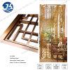 Nam de Gouden Decoratieve Verdeling van het Blad van de Besnoeiing van de Laser van het Roestvrij staal van de Verdelers van de Zaal toe