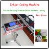 La pequeña máquina de Prining del chorro de tinta del carácter, inyecta la máquina de la codificación (A180-E)