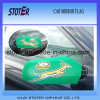 Drapeau de couverture de miroir de voiture publicitaire décoratif