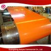 Aço galvanizado a quente revestido da cor de En10169 Dx51d+Z80 0.45X1250mm PPGI
