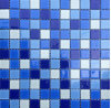 標準的なCrystal Bathroom Glass Wall Tile Mosaic Pattern Square 25X25