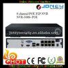 2015 el nuevo puerto del Poe NVR 8CH Poe, apoya 2 HDD NVR 8 CH Poe
