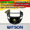 Carro DVD GPS do Android 5.1 de Witson para Cheverolet Trax com sustentação do Internet DVR da ROM WiFi 3G do chipset 1080P 16g (A5532)
