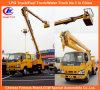 Большая возвышенность Operation Truck Isuzu в 20m Platform Truck