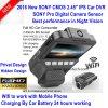 Nuova SONY CMOS automobile DVR di 2016 con 2.45  lo schermo con migliore visione notturna, magnetoscopio DVR-2409 di IPS HD di HD1080p della macchina fotografica piena dell'automobile