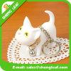 Katze-Karikatur-Form Soem-Entwurfs-Acrylschlüsselkette (SLF-AK005)