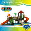 Diversa serie atractiva de los niños del juego de la escuela del equipo al aire libre del patio