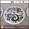 Floor Decoration를 위한 Waterjet White 또는 Cream 또는 브라운 Marble Pattern