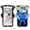 Het aangepaste Afrikaanse Geval van het Silicone Bogo Cellphone/Mobile van Buffels Zootopia 3D Belangrijkste