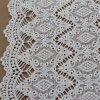 Vintate Polyester Cotton Embroidery Chemical Lace Fabric Trimmings para Clothing
