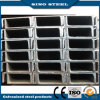 Canal de acero galvanizado dimensión de una variable material de alta calidad de Q235 U