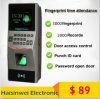 Vingerafdruk Access Control System met TCP IP Time Attendance met Password voor Door Access Control