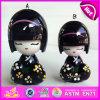 2015 multi Farben-Kind-hölzerne Kimono-Puppen, japanische Kimonos Kokeshi Puppen, Kimono-Mädchen-hölzerne traditionelle japanische Puppe W06D071b