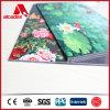 Impresión ULTRAVIOLETA ACP que hace publicidad del panel compuesto de aluminio del panel