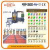 Qtf3-20 coloriu o preço da máquina do tijolo do bloqueio