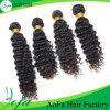 extensão humana do cabelo de Remy do cabelo da onda do Virgin não processado da classe 7A