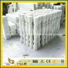 Pure Polished White Jade Stairs Baluster pour Interior Decoration