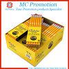Lápis padrão feito sob encomenda do Basswood da promoção barata (MC016)