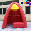 Inflatable rosso Booth Tent per Promotion