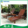 Ocioso de madera de Sun de la piscina al aire libre con la Té-Bandeja (FY-016CB)