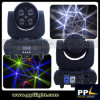 Diodo emissor de luz de giro Moving Head Beam Light de Lens Wheel 4X15W Mini