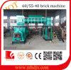 La Chine a fait la machine automatique de brique d'argile d'extrudeuse de vide