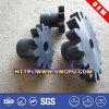 CNC подвергая пластичную шестерню механической обработке шпоры