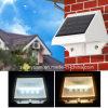 Luzes solares ao ar livre do diodo emissor de luz com controle de iluminação para a rua do jardim (CE RoHS)