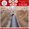 Tubo acanalado de la pared del doble del HDPE de la Liso-Textura para el abastecimiento de agua con una vida de servicio más larga