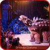 Costume réaliste d'Ankylosaurus de costume de dinosaur