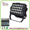 24X15W建物カラー洗浄屋外LED同価ライト6in1
