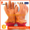 Померанцовые перчатки PVC. Приглаживайте/Sandy Finished с Acrylic Boa Liner.