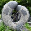 Scultura di scultura di pietra naturale