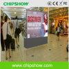 Chipshow Ad10 a todo color que hace publicidad de la pantalla del LED