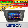 Carro DVD do Android 4.4 de Witson para o assento Leon com retrato da pia batismal DVR do Internet da ROM WiFi 3G de Rockchip 3188 1080P 16g do núcleo do quadrilátero (W2-F9240ER)