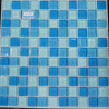 30X30 Shine Round Crystal Glass Mosaic Floor y Wall Tile