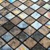 Mosaico colorido del vidrio del suelo