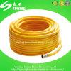 Boyau tressé de jet flexible de PVC, boyau spiralé de PVC, boyau d'aspiration de PVC
