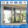 Aluminiumtür-Fenster, schiebendes Aluminiumfenster, Einbrecher-Beweis-Fenster