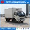 Foton 4X2 LKW des Kühlraum-Gefriermaschine-LKW-kleiner Kühlraum-5tons