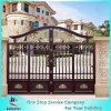 Puerta de seguridad de aluminio de la puerta de jardín de la puerta peatonal de encargo de la puerta
